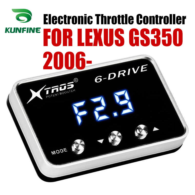 Car Electronic Throttle Controller Racing Accelerator Potent Booster For LEXUS GS350 2006-2019 Tuning Parts Accessory