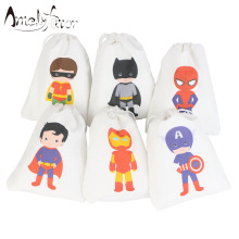 Super Heroes Party Favor Bags Gifts Birthday bags for gifts or treats Boys Supplies