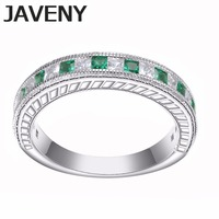 925 Sterling Silver Princess CZ Cubic Zirconia Bridal Wedding Band Engagement Rings for Womens Girls Chirstmas Birthday Gifts