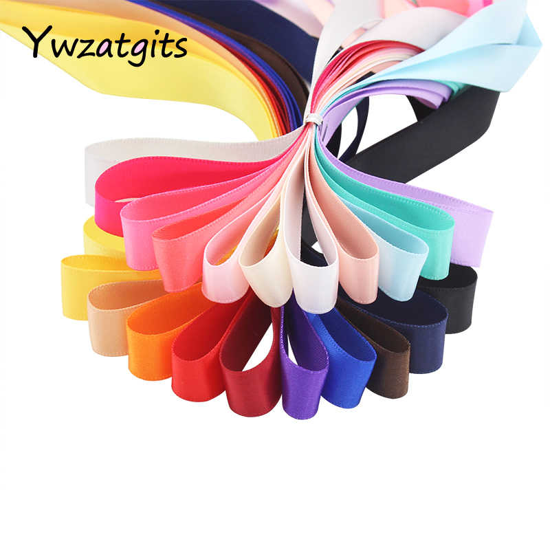 8088259dee3e5 10y/lot Trim Satin Ribbon For Hair Bow Craft Wedding Party Decoration DIY  Ribbons Supply Packaging Accessories 040007124(1)