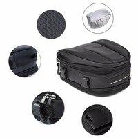 1pc Waterproof Motorcycle Tail Bag 7.5L~10L Motorbike Rear Seat Back Bag Saddle Bag for Moto Motorbike Traveling