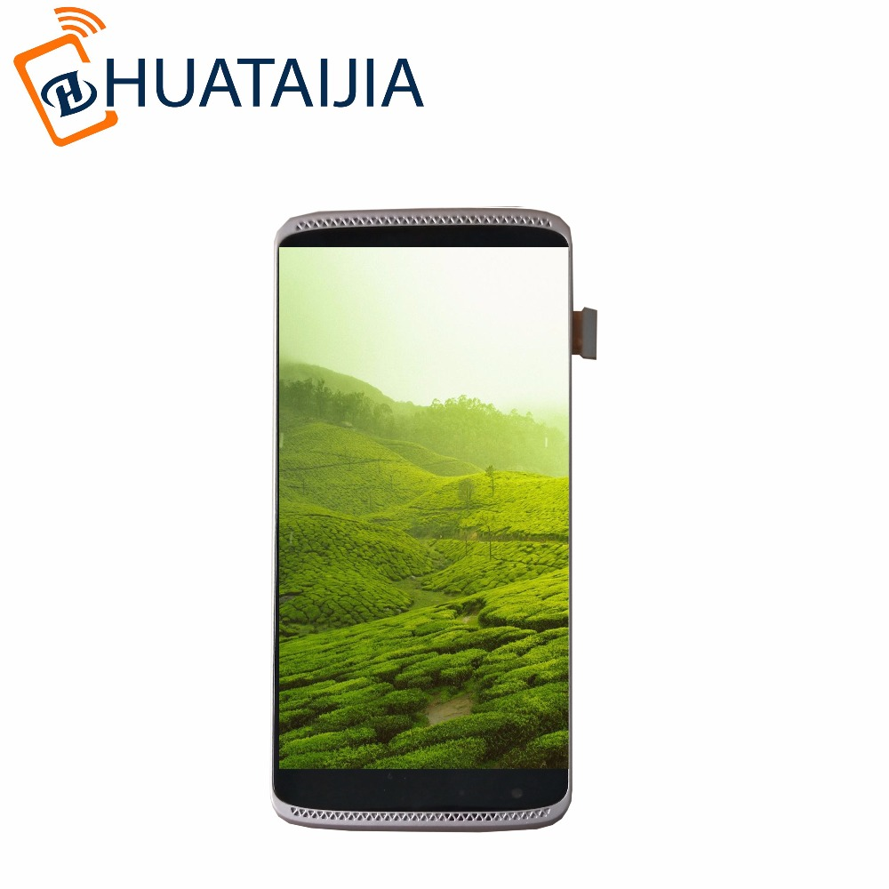5.2 For ZTE Axon Mini B2016 Full LCD Display Monitor+Digitizer Touch Panel Screen Glass Sensor Assembly Replacement with Frame