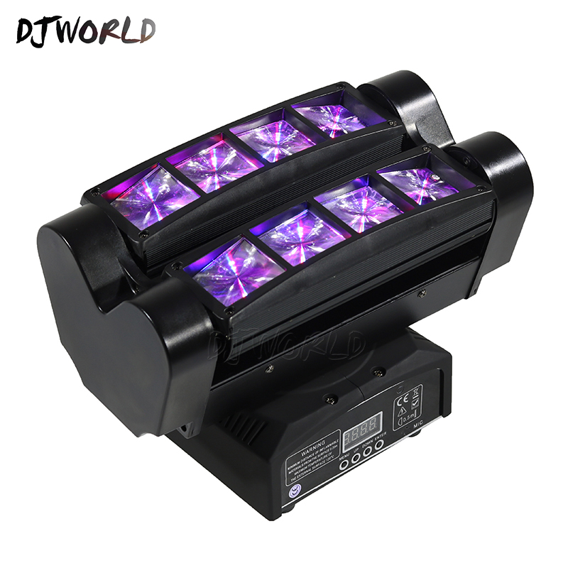 Image 5 - Mini LED Beam 8x6W Spider DMX512 Stage Effect Lighting Good For DJ Disco Party Dance Floor Nightclub And Christmas Decorations-in Stage Lighting Effect from Lights & Lighting