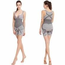 2018 New Lady Mulheres Bodysuits Meninas Desgaste Forma de Carvão Vegetal de Bambu Underwear Esculpir O Corpo Corset Shapewear Cintura Cincher Shapers