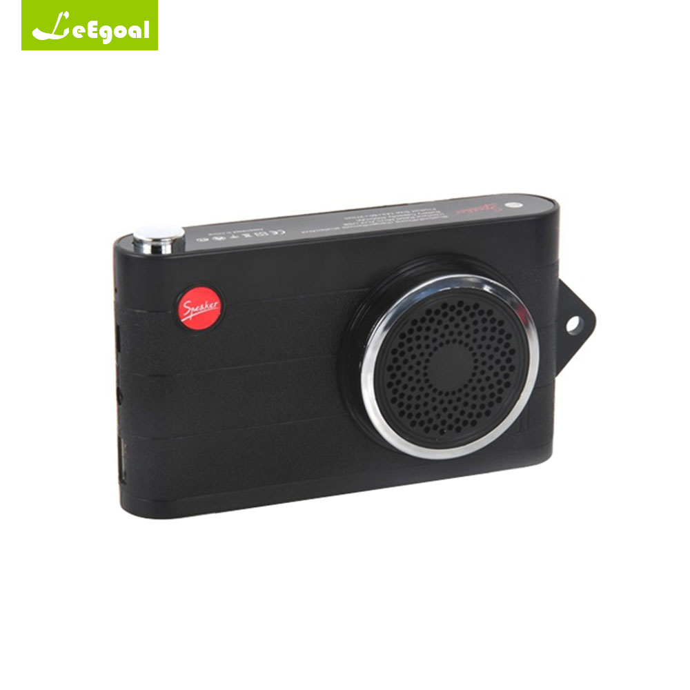 Leegoal Multifunction Speaker Portable Selfie Bluetooth Speaker Wireless Portable Speaker Power Bank 4000mah Fm Radio Mp3 Player