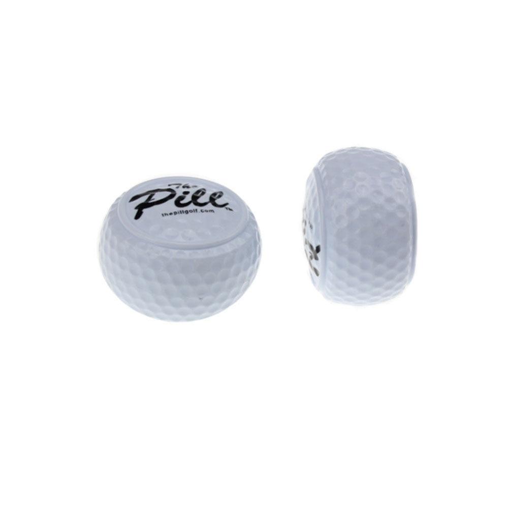 CRESTGOLF 50pcs Per Pack Golf Balls Practice Ball Two Layer Training Driving Range Flat Golf Balls