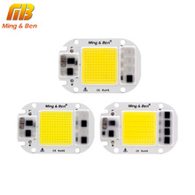 LED COB Smart IC Chip Beads 20W 30W 50W AC220V 230V Input LED IP65 Smart IC DIY For Floodlight Cold White Warm White No Driver