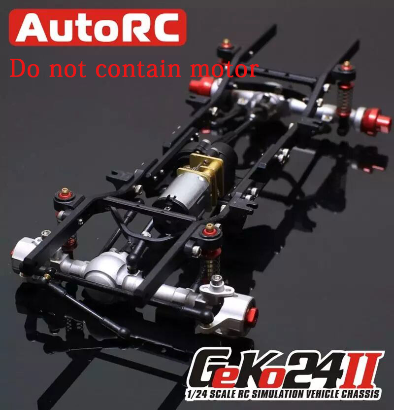 AutoRC 1/24 GK24 v2 full metal simulation climbing frame KIT Assemble Climbing RC Car Parts Version Assembled remote control car цены онлайн