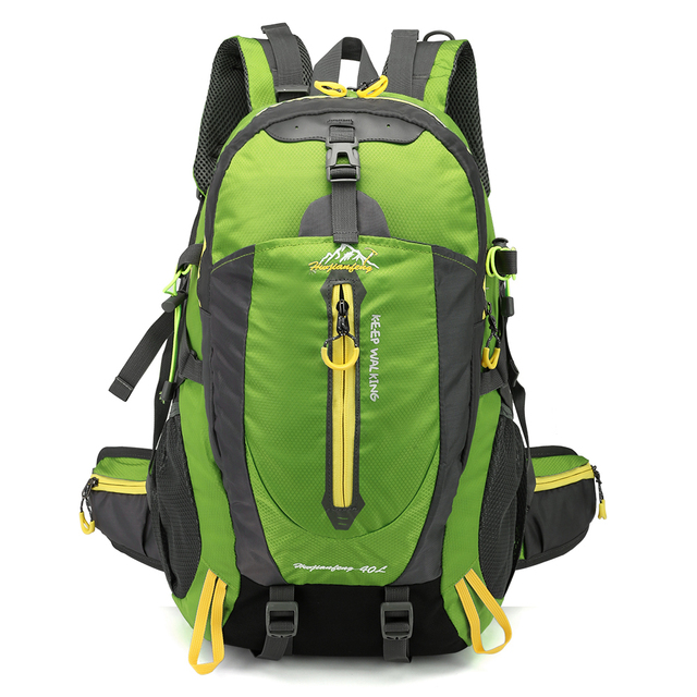 Backpack Rucksack Waterproof Climbing 40L Outdoor Sports Bag Travel Camping Hiking  Backpack Women Daypack Trekking Bags For Men dc53bb60bd5ca