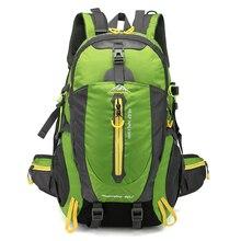 Рюкзак Водонепроницаемый восхождение 40L Спорт на открытом воздухе Дорожная сумка отдых Пеший Туризм рюкзак Для женщин рюкзак походы сумки для Для мужчин