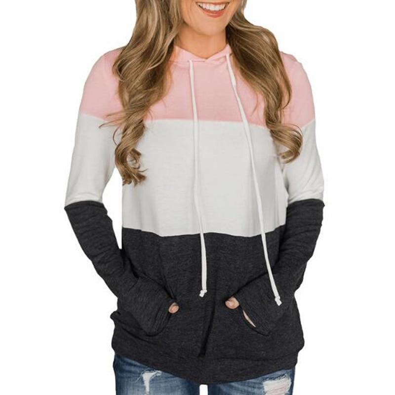 New One Earth Women's Kangaroo Pocket Hooded Sweatshirt