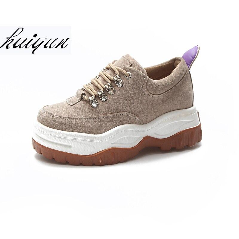 купить 2018 Spring Autumn Women flat Casual Shoes Comfortable Platform Shoes Woman Sneakers Ladies Trainers chaussure femme онлайн