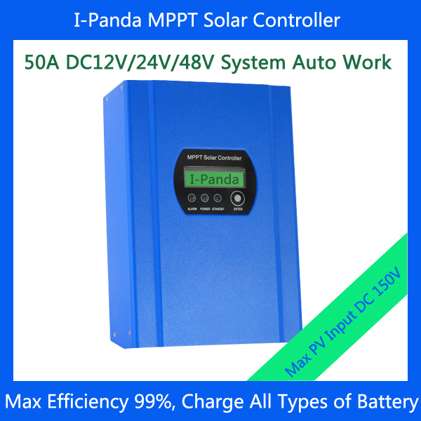 MPPT 50A,Regulator solar charge controller,MPPT controller,LCD 50A MPPT Solar Panel Charge Controller 12V/24V/48V  With RS232 60a 12v 24v 48v solar charge controller engineering premium quality com rs232 with pc
