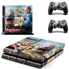 Far Cry Farcry New Dawn Game PS4 Skin Sticker Decal For Sony PlayStation 4 Console and 2 Controllers PS4 Skins Sticker Vinyl