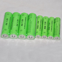 4-6pcs alkaline 1.5v AAA rechargeable battery cell 2000mah and4-6pcs AA 3000mah for led flashlight toys clock camera TOP quality
