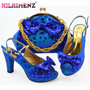 Royal Blue 2019 African Shoes