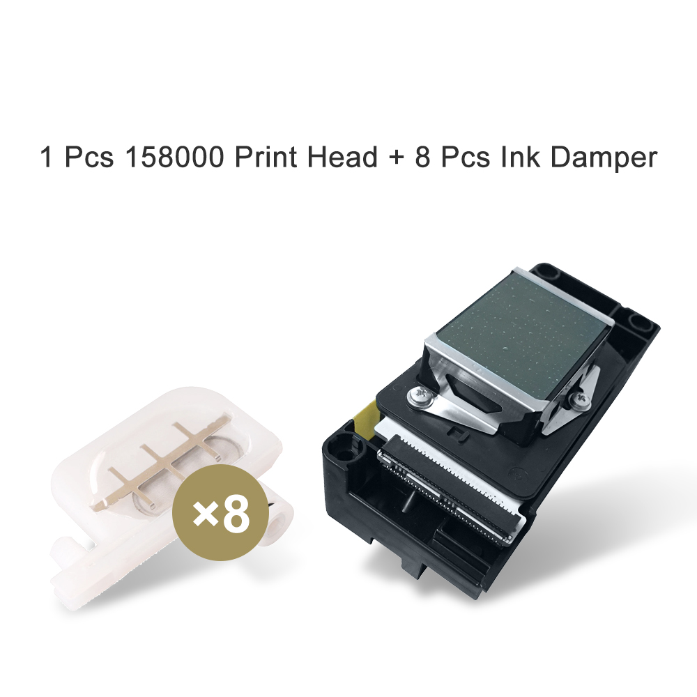 F158000 DX 5 Printhead New and original F158000 Print Head for Epson R2400 R1800 Print Head For Epson Printhead High Quality foroch brand women bag top handle bags female handbag designer hobo messenger shoulder bags evening bag leather handbags sac 352