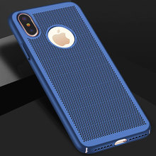Wholesale Ultra Slim Phone Case For iPhone 6 6s 7 8 Plus Heat Dissipation phone Solid color for X R S Max back cover