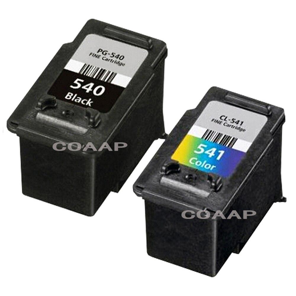 Refillable PG540 Black CL541 Colour Ink Cartridge For Canon PIXMA MG2250 MX375 MX435 MX475 MX515 MX525
