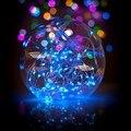 La Pila de Botón 2 Metros 20 Luces de Navidad Decoración Del Partido Del Festival Luz de Hadas de la Secuencia del Alambre de Cobre Lámpara VER61 P18 0.35
