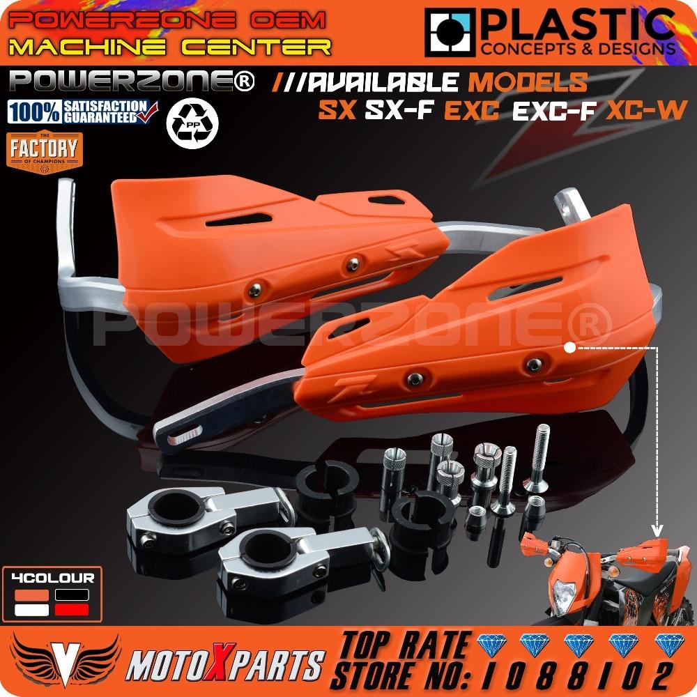 Moto Dirt Bike ATV guidon poignées gardes à main pour KTM SX SXF EXC XCW EXC F Husqvarna 85 125 250 300 350 450 530