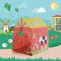 Encantador dos desenhos animados do Brinquedo Tenda para Meninas 100x75x110 cm Bebê Interior Casa de Jogo Ao Ar Livre