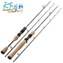 TAF 1.8m Spinning or Casting Fishing Rod UL Power Lure Weight 0.5-5g 2 Section Lure Rod Carbon Fiber Carp Fishing Pole Pesca 1 98 2 1 2 4m spinning lure rod casting lure rod power m ml mh wood handle super hard carbon fishing rod fishing pole pesca