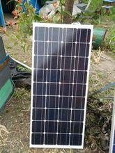 цена на Solar Panel 12v 100W Solar Photovatioc Module Solar Charger Battery China RV Boat Marine Yacht Motorhome Caravan Aucaravan