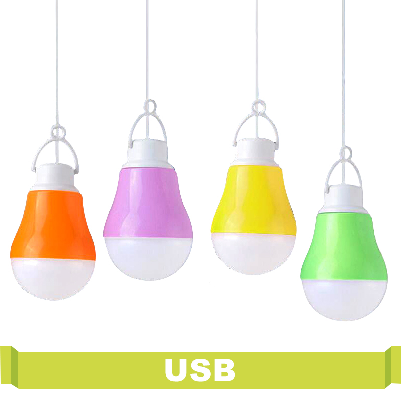 High Power Energy Saving Bulb USB Portable Led Night Light 5V DC 5W For Outdoor Work With Power Bank Notebook Camping Light Led led dc5v 5w 1 usb ball bulb reading light portable night lighting notebook outdoor smd5730 power bank emergency lamp camping led