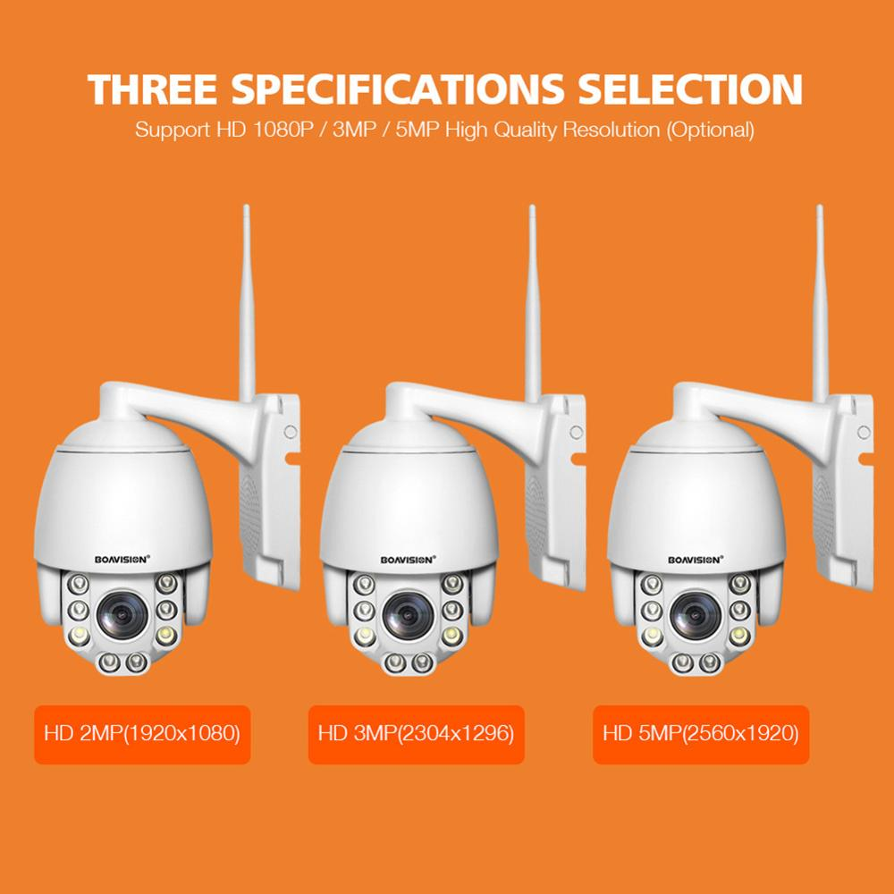 Wifi PTZ IP Camera 1080P 3MP 5MP Super HD 5X Zoom Two Way Audio Wireless PTZ Wifi PTZ IP Camera 1080P 3MP 5MP Super HD 5X Zoom Two Way Audio Wireless PTZ Cam Outdoor 60m IR Video Home Security Camera P2P