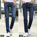 2015 men's jeans fashion jeans large sales of spring, summer, autumn fashion brand slim straight male long denim jeans trousers