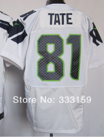 Football Jersey Shop 81 Golden Tate 81 TATE Men's Elite White Football Jersey Embroidery Design Wholesale Store 333159