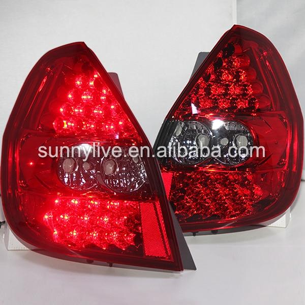 For Honda Fit Jazz LED Tail Lamp hatchback 2002 to 2008 year Red Color LF прокладки клапанной крышки honda vtr1000f