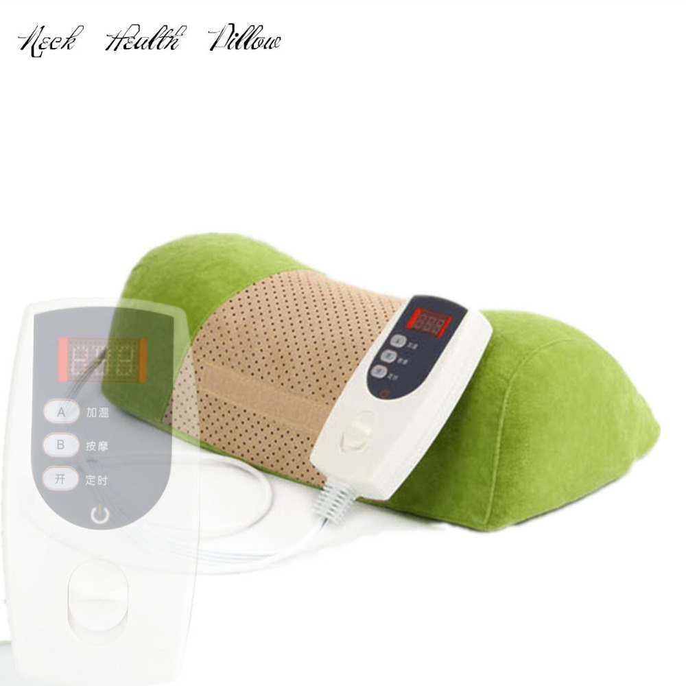 NEW Electric Pillow treatment cervical pillow neck traction massager device health care thermotherapy massage Chinese Pillow electric prostate massager for treatment of prostatitis urine frequency factory drop shipping male private haealth care