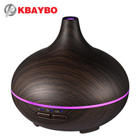 150ml Aroma Essential Oil Diffuser Ultrasonic Air Humidifier With 4 Timer Settings 7 Color Changing LED