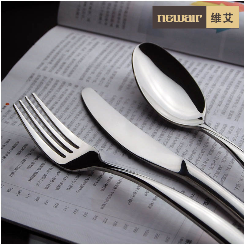 kitchen dining supplies duke fashion tableware set font b knife b font and fork spoon