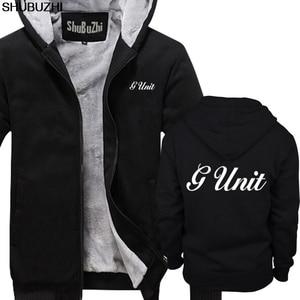 Image 1 - winter thick hoodies New G Unit 50 Cent Rap Hip Hop Logo Mens Black hoodie S 5XL Premium Mens winter jacket coat sbz1465