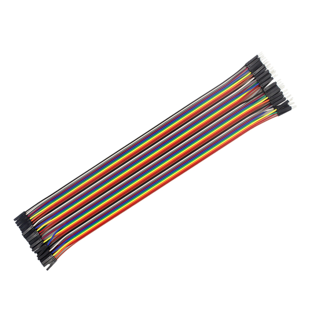 Dupont Line 120pcs 30cm Male to Male, Male to Female and Female to Female Jumper Wire Cable