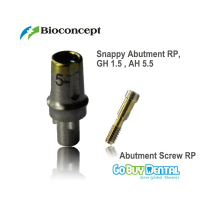 Nobel Compatible Biocare Replace Abutment RP GH1.5mm AH5.5mm (435803)