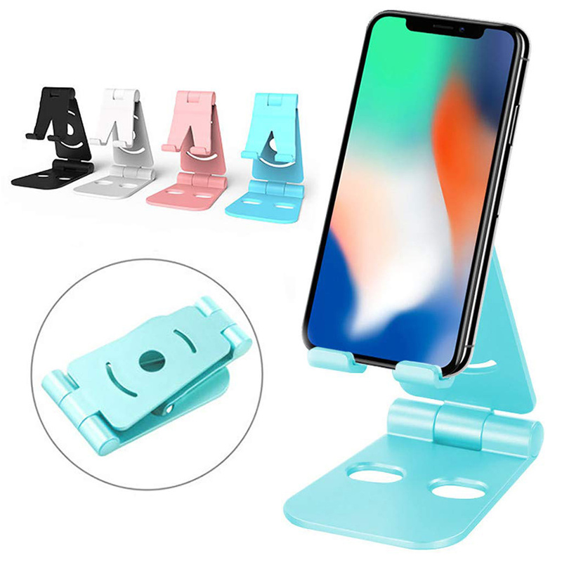 Universal Multi Colors 360 Degrees Foldable Swivel Phone Stand Mobile Phone Holder Stand Decoration Non-slip Adjustable Bracket