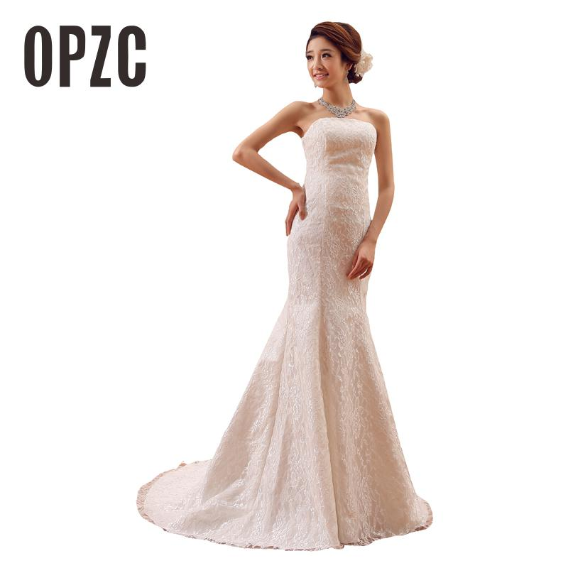 2020 New Korean Classic Style  Dress Summer Design White Off Shoulder Sexy Vestido de Noiva Lace Train Bridal Wedding Dress