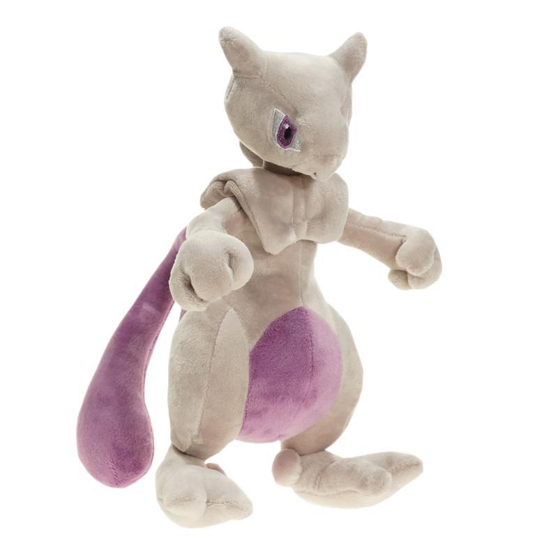 Poke Monster Mewtwo Plush juguetes muñeca 25 cm