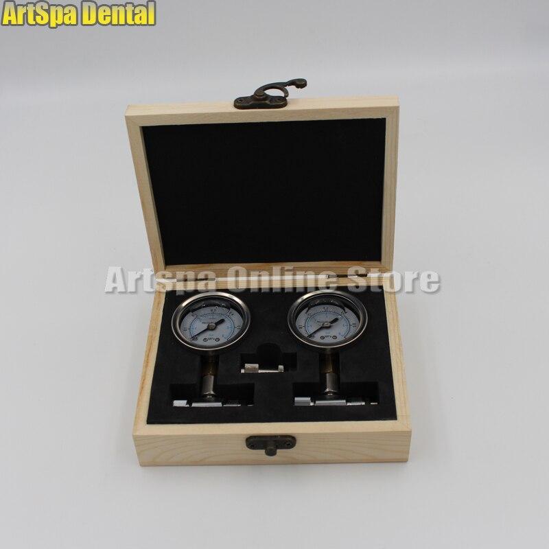 Dental Chair Unit Air Compressor Air Pressure Relief Valve Manometer Meter Dental Air Pressure Gauge