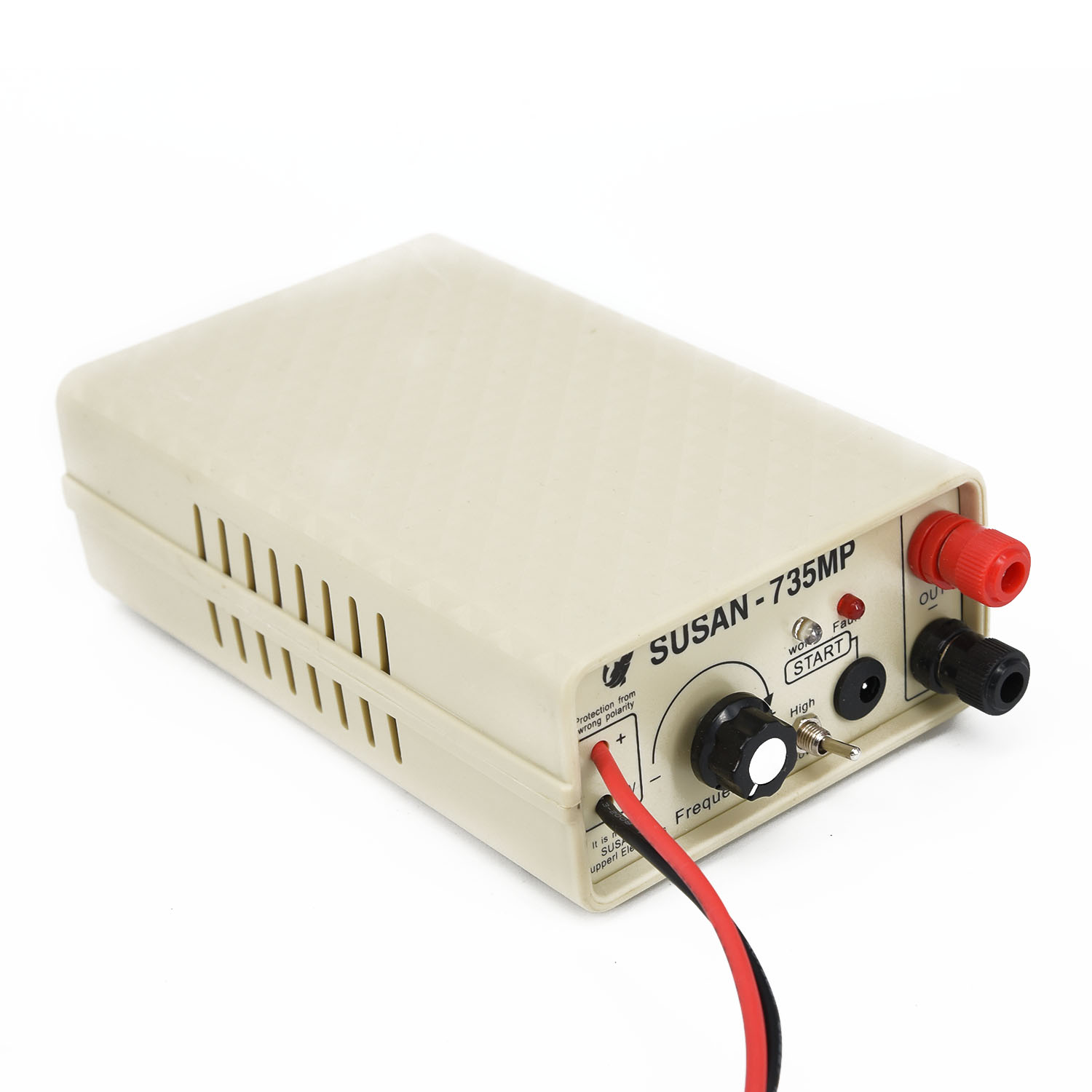 12V DC 735MP 600W High Power Ultrasonic Inverter Electrical Equipment Power Inverter With Cooling Fan Machine