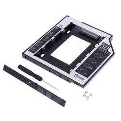 Жесткий диск Bay Универсальный 2,5 2nd мм 9,5 мм Ssd Hd SATA жесткий диск HDD кэдди адаптер Bay для Cd Dvd Rom Оптический Bay Новый