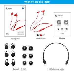 Image 5 - EDIFIER W200BT(SE)  wireless earphone Bluetooth 5.0 IPX4 rated Waterproof 7hrs of playback Magnetic function bluetooth earphone