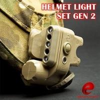 SF Helmet Light Set GEN 2 Military Tactical Light White Red LED IR Helmet Flashlight Led Light Fit Bike Motorcycle
