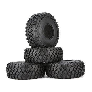 AUSTARHOBBY AX 7020 4 Stuks 1.9 Inch 122mm 1/10 Rock Crawler Rubber Banden voor D90 TRX4 SCX10 AXIALE TF2 RC Auto Accessoires-in Onderdelen & accessoires van Speelgoed & Hobbies op