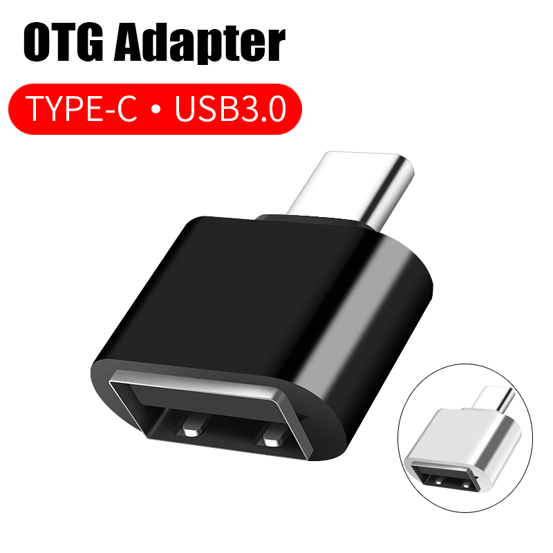 USB 3.0 Flash Drive OTG To Type-C Cord Adapter For Samsung S9 Huawei Xiaomi Mi 8 Leeco Oneplus Phone Converter Mouse OTG Adaptor