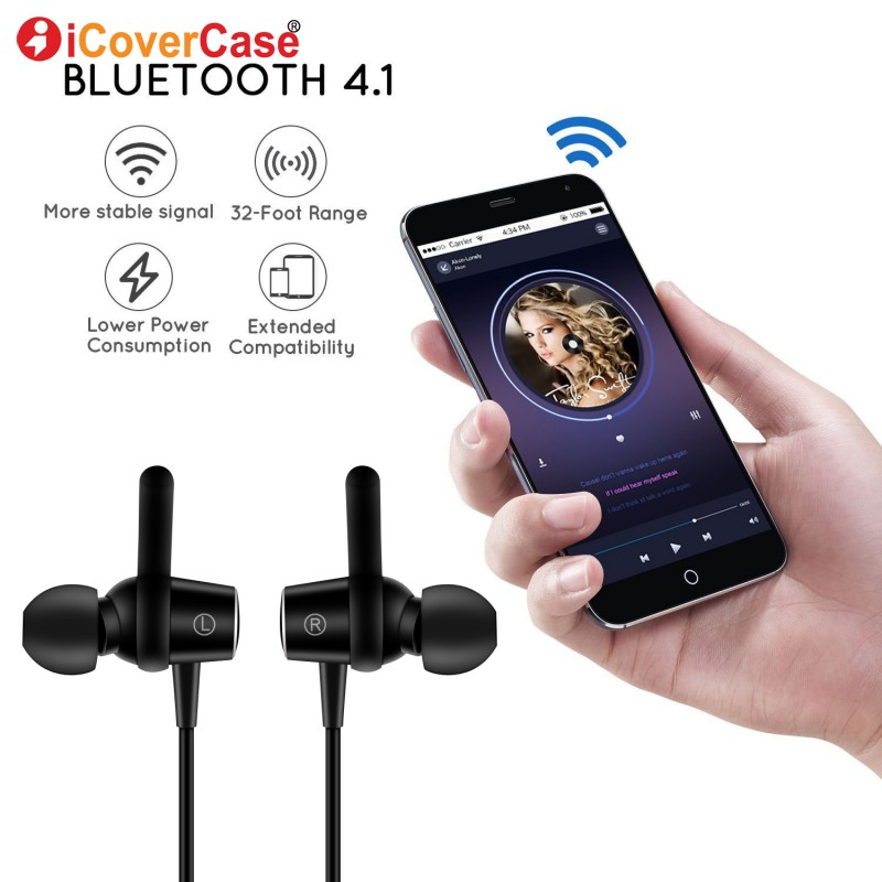 Bluetooth Earphone For Samsung Galaxy S9 Plus S8 S7 S6 Edge S3 S4 S5 Mini Wireless Headphone Case Sports In-Ear Earbuds Headset